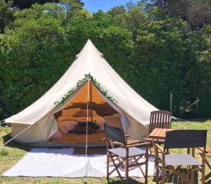 Bell Tent at Southcombe Park